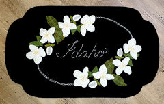 Wool Idaho Syringa Table Runner Pattern/Kit