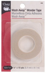 Dritz Wash-Away Wonder Tape 1/4 inch