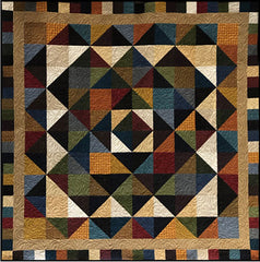 Triangle Trips Quilt Kit