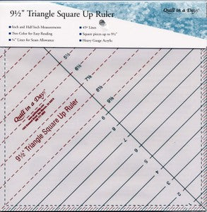 Triangle 9-1/2 Square Up Ruler