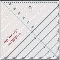 Triangle 6-1/2 Square Up Ruler