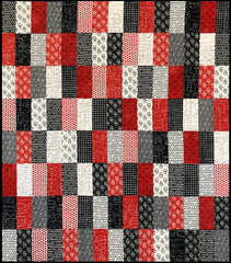 Wannabe Red & Black Quilt Kit