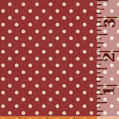 Market Place Dot Pale Red 43205-2