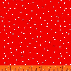 Scattered Dot Red 52551-10