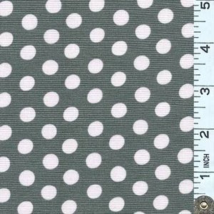 Kaffe Spot Charcoal Fabric (GP070.CHARCOAL)