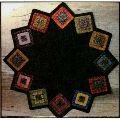 Wool Squares Table Mat Kit