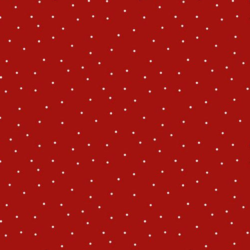 Essentials Pindot Red 39131-331