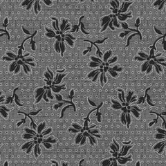 Blackwood Cottage Dotted Floral Black 98656-999