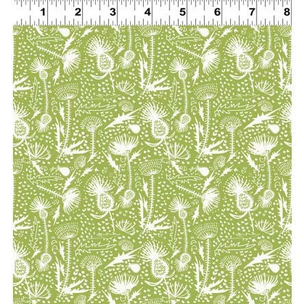 Thistle Patch Tonal Floral Olive Y3065-24