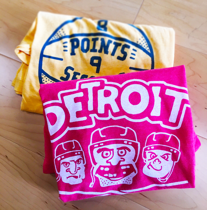 detroit hock city and 8 points 9 seconds shirt