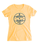 8 Points 9 Seconds Ladies Tee - HomeTown Riot