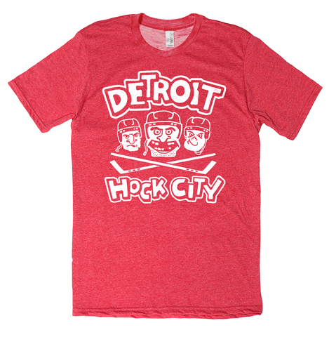 Detroit Hock City Tee - HomeTown Riot