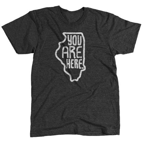 Illinois YAH Tee - HomeTown Riot