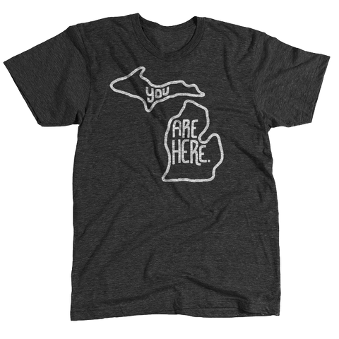 Michigan YAH Tee - HomeTown Riot