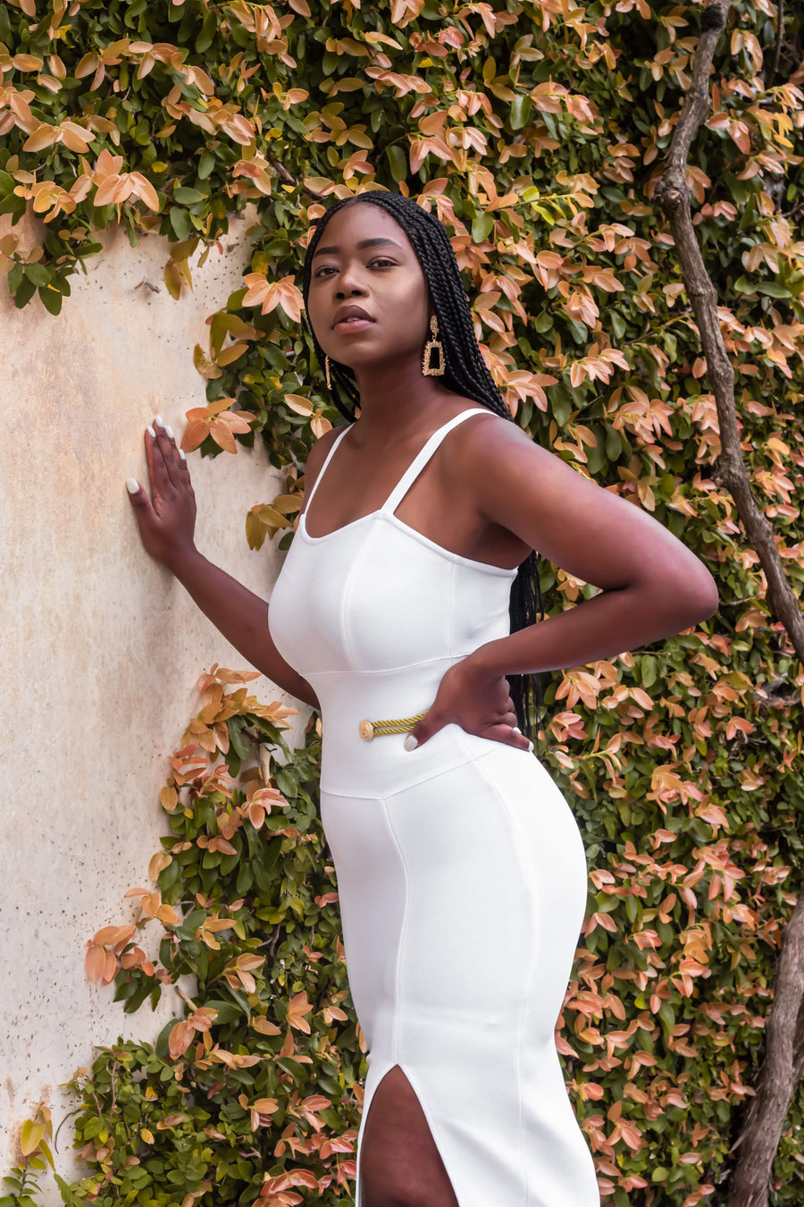 Gold divine Bodycon dress - ferox-boutique -