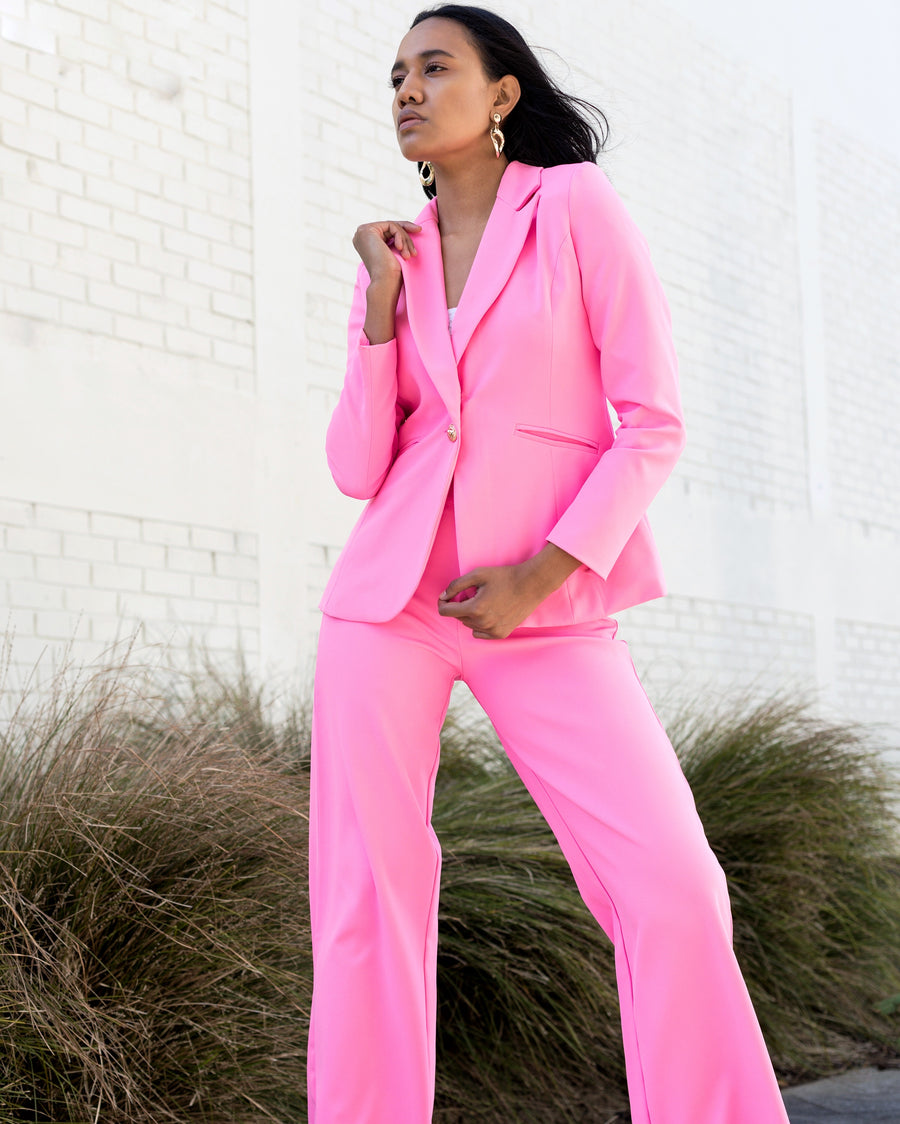 Boss Up In Pink Suit