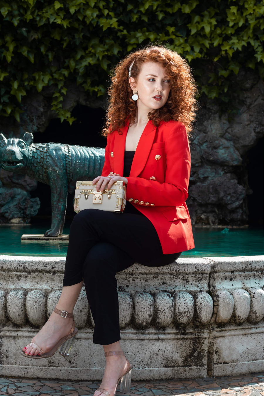 Empowered In Red Blazer (Preorder)