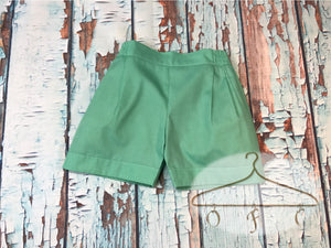 Manly Mint Shorts