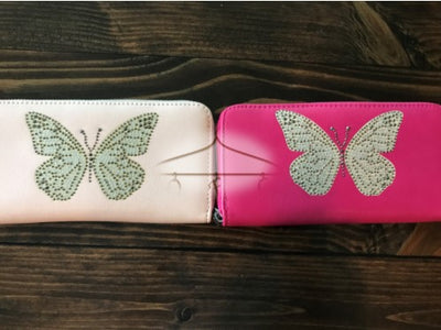 Jeweled Butterfly Wallet