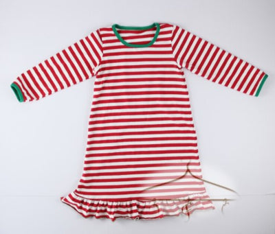 Candy Cane Lounge Gown