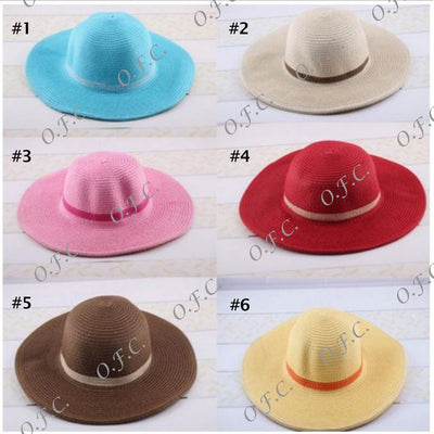 Straw Hat in various colors
