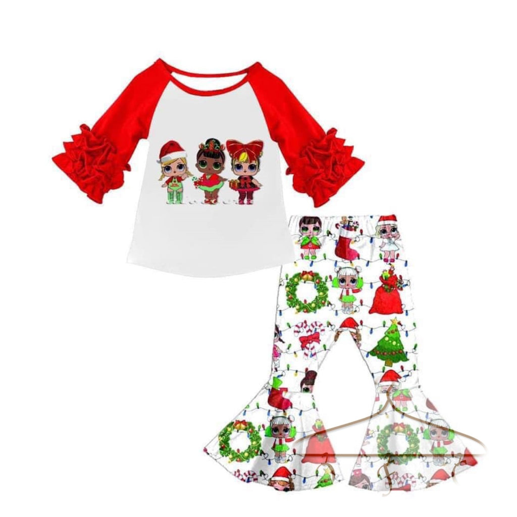 LOLly Christmas Pant Set