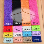 Lace headbands in various colors