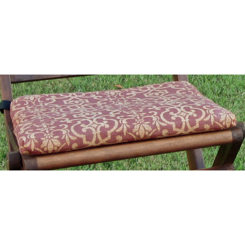 18'' x 16 '' Chair Cushion in Solid or Print Cover (Set of 2)