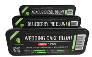 Hemp Hop 3 Pack of Blunts