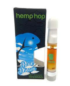 Blue Dream Vape Cartridge high in CBN, Exo-THC, CBG, THCv, CBDv, and CBD