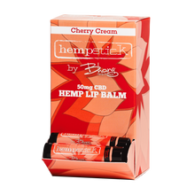 Load image into Gallery viewer, Cherry Cream CBD Lip Balm - 50mg