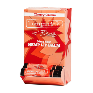 Cherry Cream CBD Lip Balm - 50mg