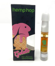 Load image into Gallery viewer, Gelato Hemp Vape Cartridge high in CBN, CBD, CBC