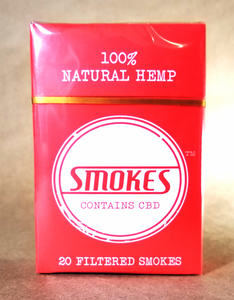 Hemp Smokes Cigarettes -20 pack