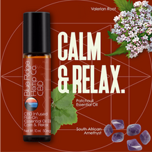 Load image into Gallery viewer, CBD Infused Roll-On Essential Oil Blend Calm & Relax 10ml 50mg CBD