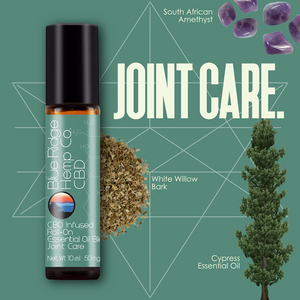 CBD Infused Roll-On Essential Oil Blend Joint Care 10ml 50mg CBD