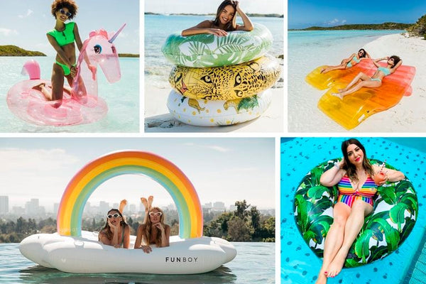 Swans. Pineapples. Angel Wings. How the novelty pool float conquered Instagram.