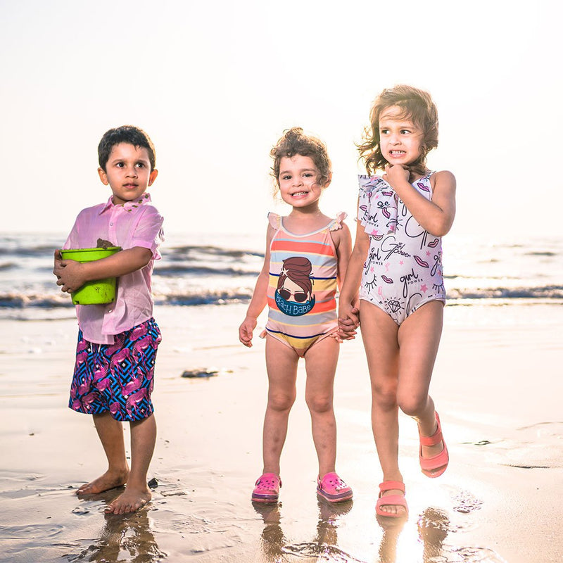 BEACH BUMS: Swimwear For Kids
