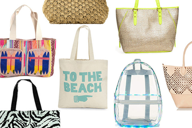 10 Fun Bags, Totes & Clutches To Take You From The Beach To The Bar