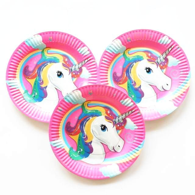 Unicorn Paper Plates (Pack of 9)