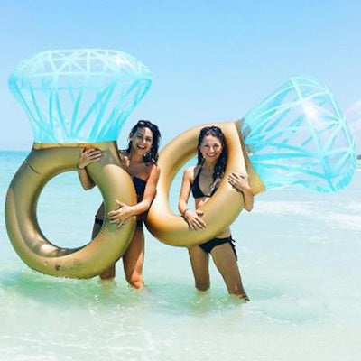 Inflatable Diamond Ring Float