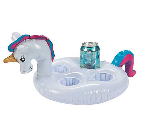 Inflatable Unicorn Drink Holder (Pack of 1)