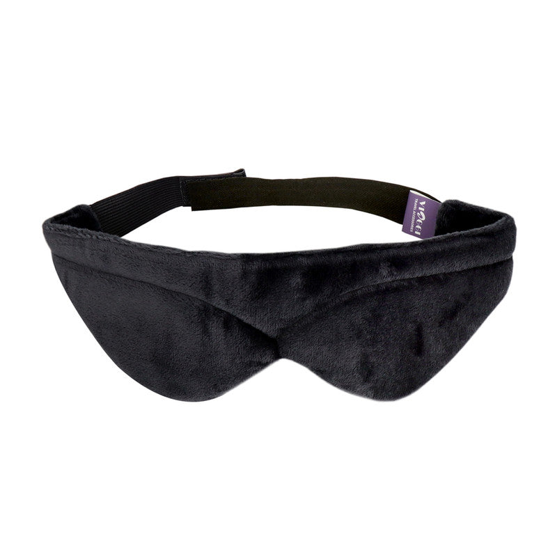 Memory Foam Unisex Sleep Mask for Travel - Dark Grey