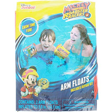 Mickey and the Roadster Racers Inflatable Arm Floats