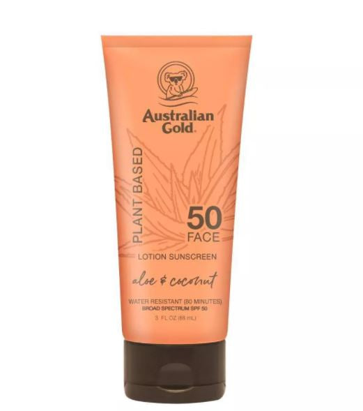 Australian Gold Plant Based Sunscreen Face Lotion - SPF 50 - 88ml