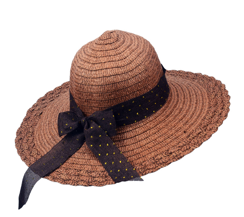Scallop Edge Floppy Hat