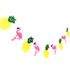 Tropical Flamingo Pineapple Garland