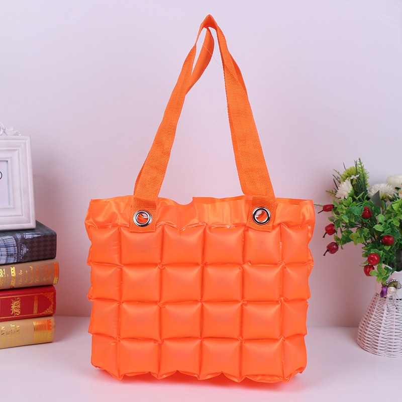 Inflatable Bubble Bag - Orange