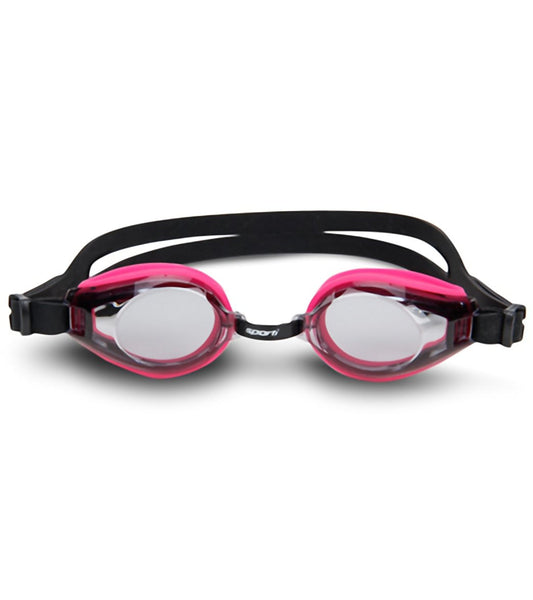 Sporti Anti Fog Plus Goggles Pink/Black