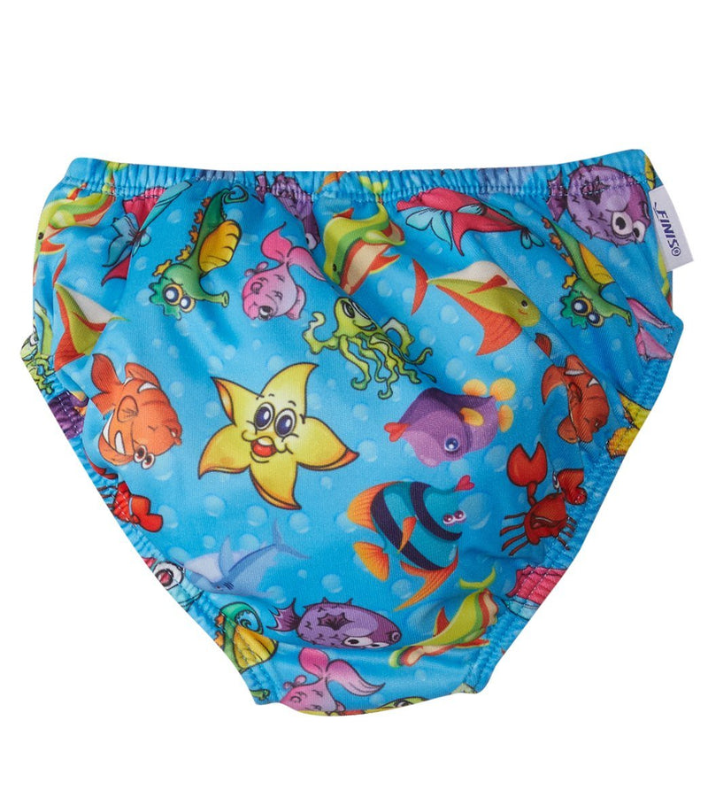 Finis Swim Diaper FishBowl Blue